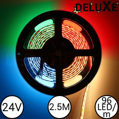 LED Strip RGBW DELUXE 2.5 Meter 96 LED 24 Volt