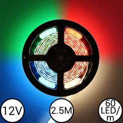 12V RGBW LEDStrip 2,5 meter 150led