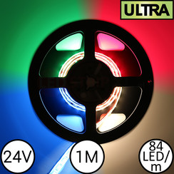 LED Strip RGBW Ultra 1 Meter 84 LED 24 Volt