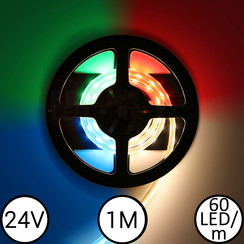 LED Strip RGBW 1 Meter 60 LED 24 Volt