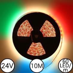 LEDStrip RGBW 10 Meter 60 LED 24 Volt