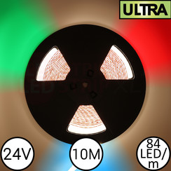 LED Strip RGBW Ultra 10 Meter 84 LED 24 Volt
