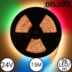 LED Strip RGBW DELUXE 7.5 Meter 96 LED 24 Volt