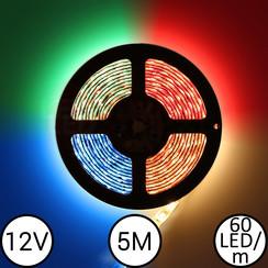 12V RGBW LEDStrip 5 meter 300led