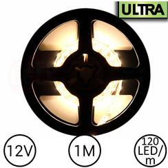LED Strip Warm Wit 1 Meter 120 LED 12 Volt - Ultra