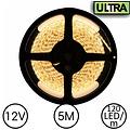 LED Strip Warm Wit 5 Meter 120 LED per meter 12 Volt - Ultra