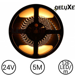 LED Strip 2500K Warm Wit 5 meter 24V - Deluxe