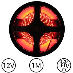 LEDStrip Rood 1 Meter 120 LED 12 Volt