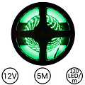 LEDStrip Groen 5 Meter 120 LED per meter 12 Volt