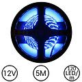 LEDStrip Blauw 5 Meter 120 LED per meter 12 Volt