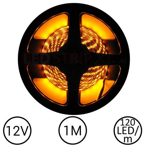 LEDStrip Geel 1 Meter 120 LED per meter 12 Volt