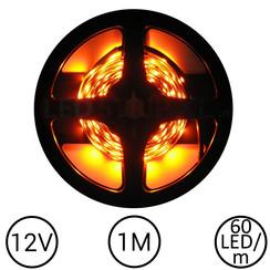 LEDStrip Oranje 1 Meter 60 LED 12 Volt