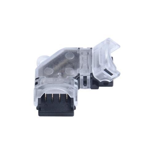RGB  LEDStrip klik koppelstuk hoeken 10mm 4-aderig