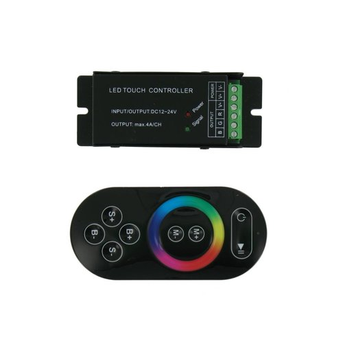 RGB LED RF Controller met Touch Afstandsbediening