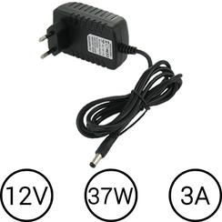 LED Voeding 12V 3 Ampère 37.5W