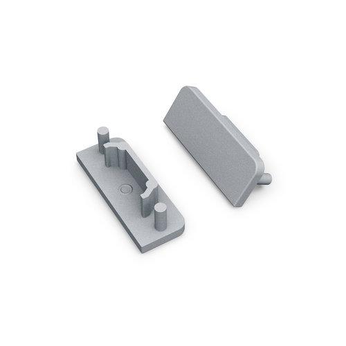 TOPMET Surface14 Einddop Zilver