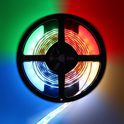 LED Strip RGB+CCT 2.5 meter 60led/m 5in1 LED 24V 2800k ~ 6500k