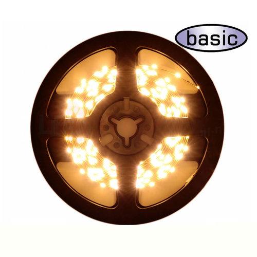 LEDStrip Side View Extra Warm Wit 5 meter 12 volt