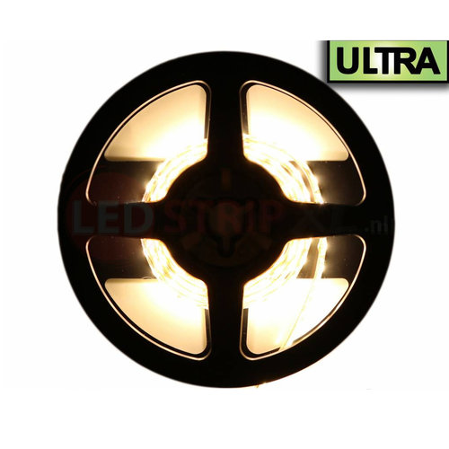 24V LED Strip Extra Warm Wit 1 Meter 120 LED per meter - Ultra