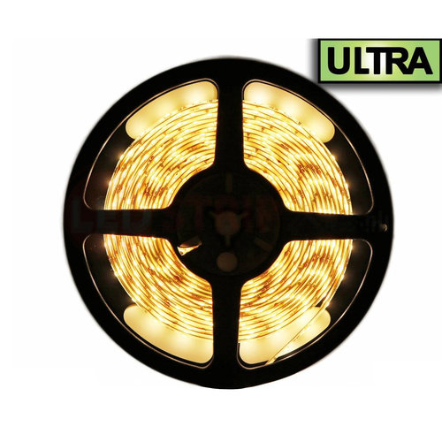 LED Extra Strip Warm Wit 2,5 Meter 120 LED per meter 12 Volt - Ultra