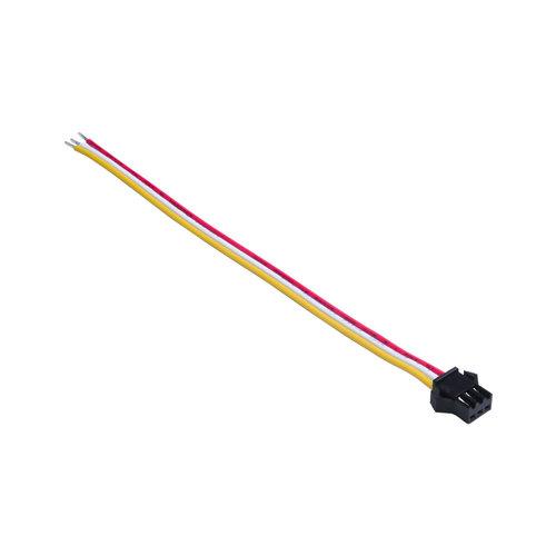 Smart click socket 15cm 3 pins male