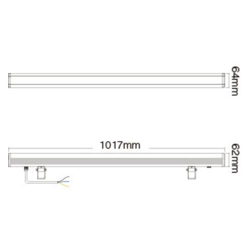 Milight 48 Watt RGB+CCT LED Wall Washer 230v IP66