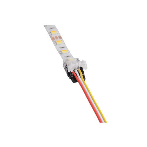 Klik Connector  voor Dual White ledstrips naar draad