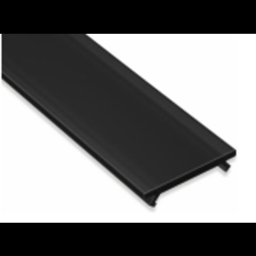 Lumines Zwarte Cover 200cm voor Lumines Profielen