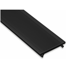 Zwarte Cover 100cm voor Lumines Profielen