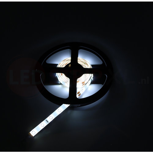 24V LED Strip Koud Wit 5 Meter 60 LED per meter - Ultra