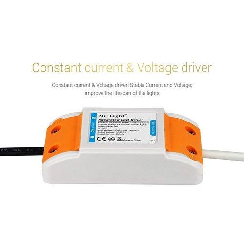 Milight / MiBoxer 9 Watt RGB + Warm Wit + Koud Wit CCT Downlight Dual White