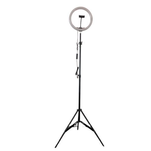 Statief voor LED ring lamp of camera - tot 2 meter hoog