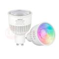Milight / MiBoxer RGB+CCT LED Spot 6W GU10 met diffuse lens