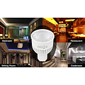 Milight Dual White LED spot 6W GU10 met diffuse lens