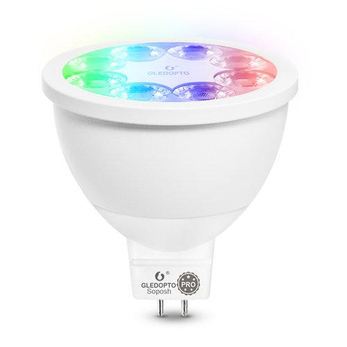 GLEDOPTO Zigbee PRO Color and White 4 Watt MR16 Spot 25° lens Philips Hue Compatible
