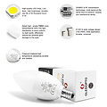 GLEDOPTO Zigbee PRO Color and White 4 Watt E14 Kaars Lamp Philips Hue Compatible