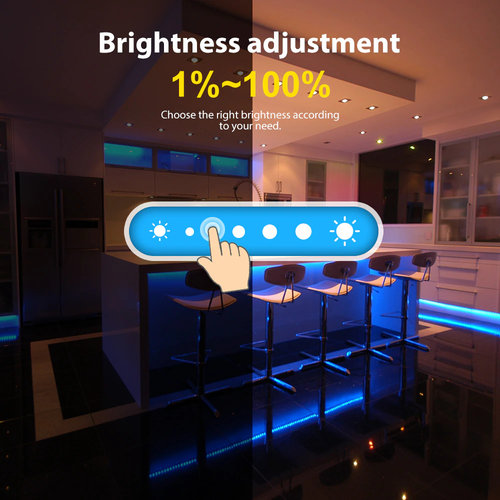 GLEDOPTO Zigbee PRO Color And White  LED Strip Controller 12 ~ 54 Volt Philips Hue Compatible