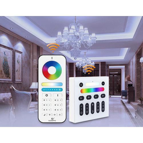GLEDOPTO Zigbee PRO Color and White 4 Watt GU10 Spot 120° lens Philips Hue Compatible
