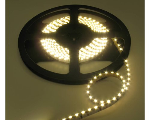 LEDStrip Side View helder Wit 5 meter 12 volt 120 leds per meter