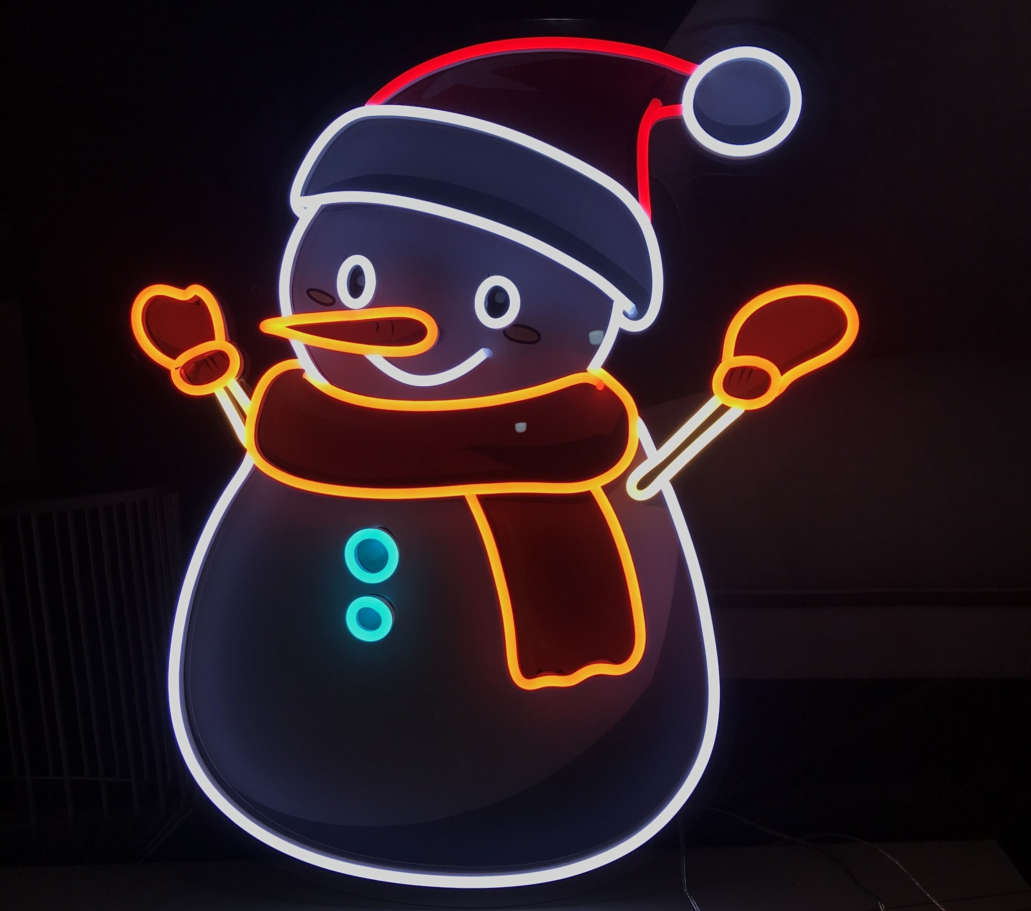kerst neon led sign