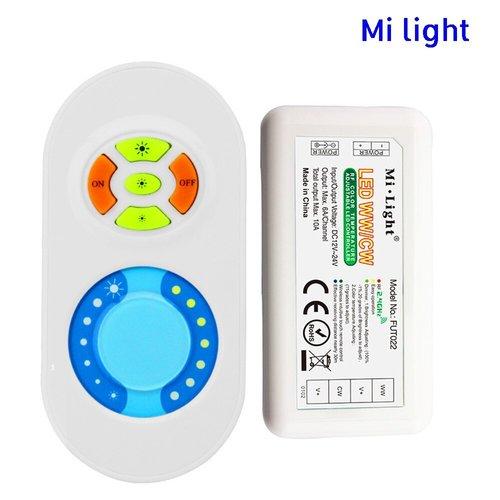 Milight / MiBoxer Dual White afstandsbediening set 2.4Ghz FUT022