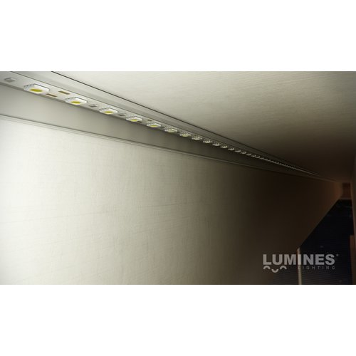 Lumines Opbouw montage profiel F voor indirecte verlichting 2 meter