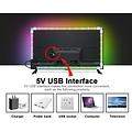 GLEDOPTO Zigbee PRO USB TV Kit RGB+CCT 2 meter LEDstrip met hoekconnectoren