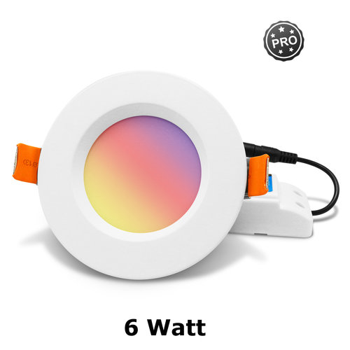 GLEDOPTO Zigbee PRO RGB+CCT Downlight 6 Watt Philips Hue Compatible