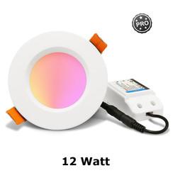 Zigbee PRO RGB+CCT Downlight 12 Watt