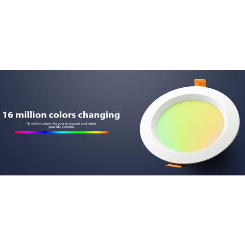 GLEDOPTO Zigbee PRO RGB+CCT Downlight 12 Watt Philips Hue Compatible