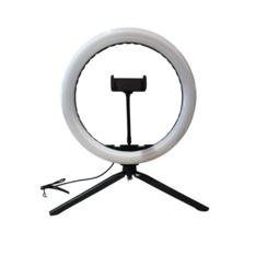 LED ring lamp met 3 lichtstanden - voor foto's en video's - diameter van 30 cm