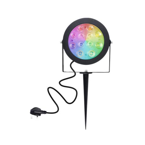 GLEDOPTO Zigbee 3.0 PRO RGB+CCT 12W LED Waterdichte Tuinspot
