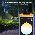 GLEDOPTO Zigbee 3.0 PRO RGB+CCT Waterdichte 7 Watt LED Tuinspot