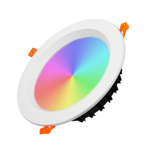 Milight / MiBoxer 25 Watt RGB+CCT LED Downlight FUT060